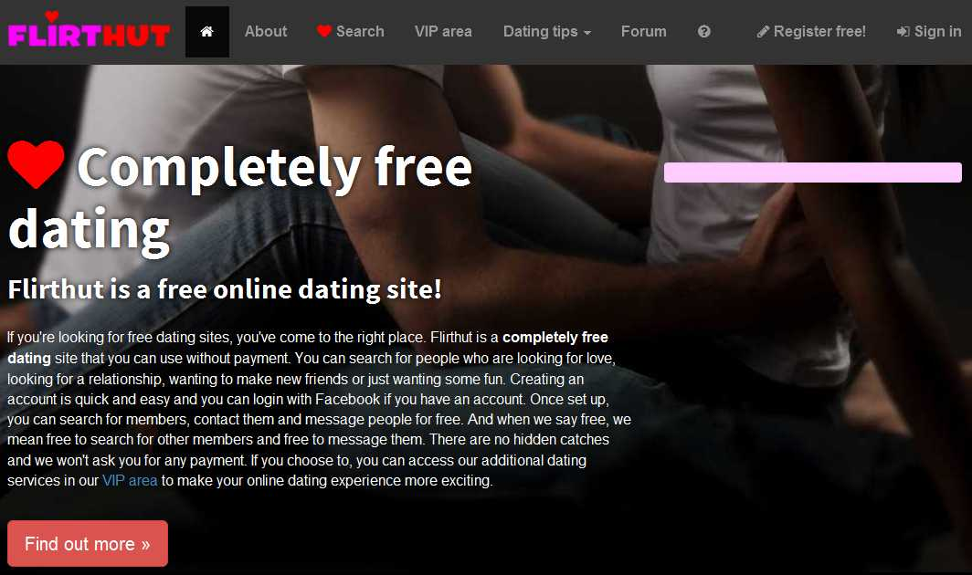 Completely free dating sites no registration